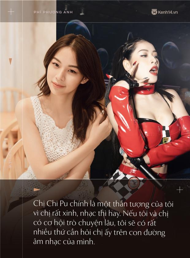 Phí Phương Anh: Tôi thần tượng và có rất nhiều thứ cần hỏi chị Chi Pu trên con đường âm nhạc của mình - Ảnh 17.