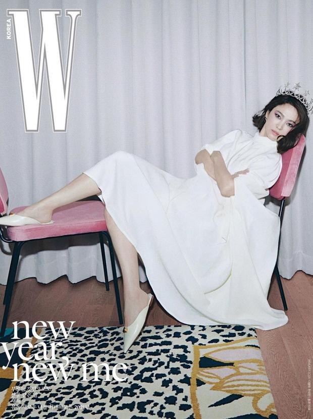 Bài phỏng vấn Song Hye Kyo tiếp tục gây bão vì chi tiết làm rõ tin đồn ngoại tình sau khi ly hôn Song Joong Ki? - Ảnh 4.