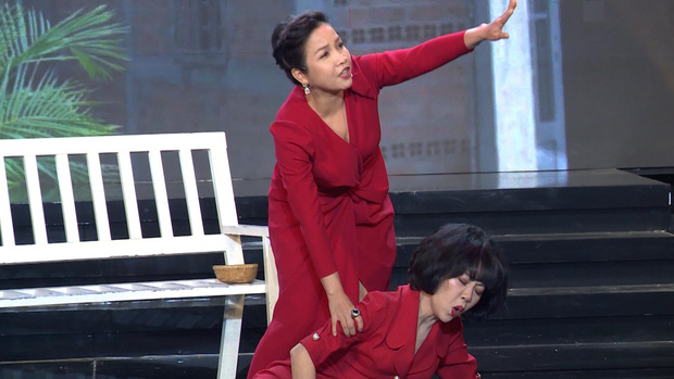 Clip: Diva Mỹ Linh cực gắt trong lần đầu diễn kịch với Trác Thúy Miêu - Ảnh 3.
