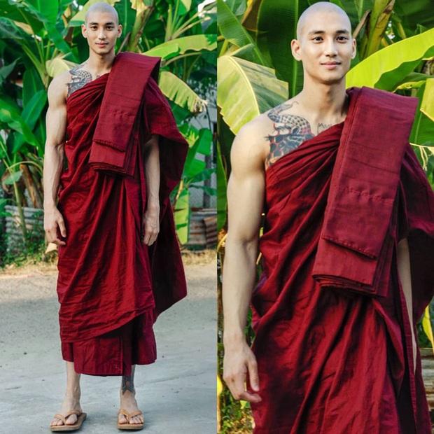 Profile cực xịn của chàng mẫu thầy tu người Myanmar: Con trai nhà tài phiệt, sở hữu body gợi cảm, từng công khai thả thính mỹ nhân Chiếc Lá Bay Baifern Pimchanok - Ảnh 2.