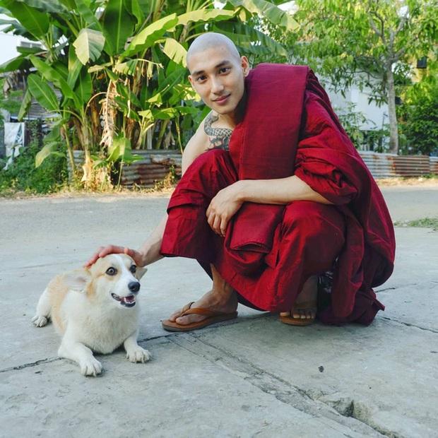 Profile cực xịn của chàng mẫu thầy tu người Myanmar: Con trai nhà tài phiệt, sở hữu body gợi cảm, từng công khai thả thính mỹ nhân Chiếc Lá Bay Baifern Pimchanok - Ảnh 3.