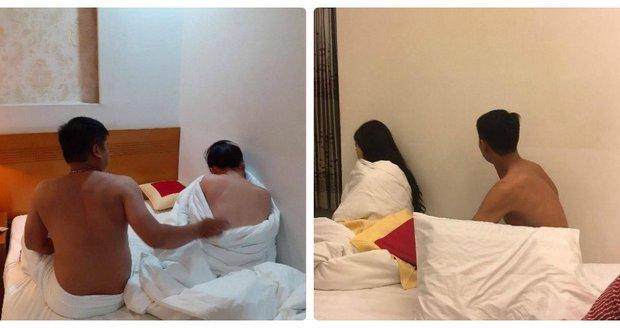 Đột kích cơ sở massage tổ chức bán dâm cho khách và sử dụng ma tuý - Ảnh 1.