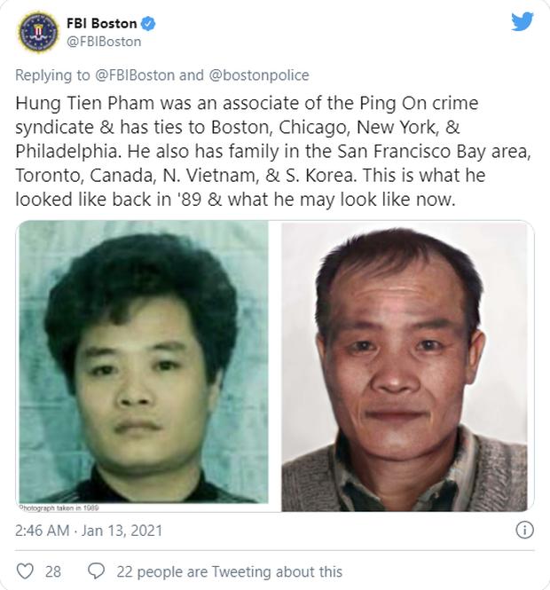 FBI treo thưởng gần 700 triệu đồng cho người cung cấp thông tin về nghi phạm người Việt liên quan vụ thảm sát đẫm máu xảy ra từ 30 năm trước - Ảnh 2.