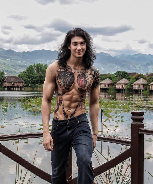Profile cực xịn của chàng mẫu thầy tu người Myanmar: Con trai nhà tài phiệt, sở hữu body gợi cảm, từng công khai thả thính mỹ nhân Chiếc Lá Bay Baifern Pimchanok - Ảnh 5.