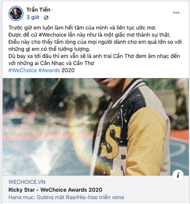 Các nghệ sĩ Việt nô nức kêu gọi bình chọn tại WeChoice Awards 2020, cuộc chiến fandom đang vô cùng gay cấn! - Ảnh 21.