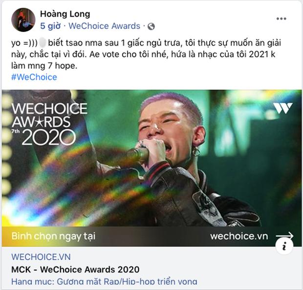 Các nghệ sĩ Việt nô nức kêu gọi bình chọn tại WeChoice Awards 2020, cuộc chiến fandom đang vô cùng gay cấn! - Ảnh 19.