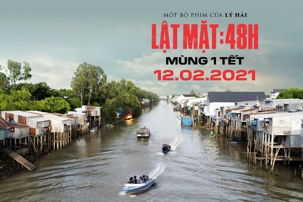 Ốc Thanh Vân hóa siêu mẹ bỉm ôm con đu lầu chạy trốn, 500 anh em yang hồ cũng làm không lại ở trailer Lật Mặt: 48H - Ảnh 12.