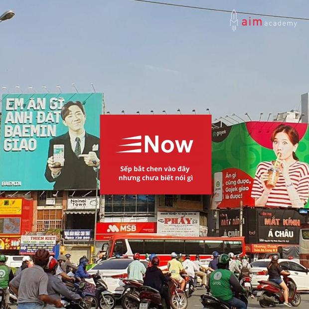 Thực hư sự xuất hiện của bảng quảng cáo Now tại giao lộ đối đáp giữa Hari Won - Trấn Thành - Ảnh 1.