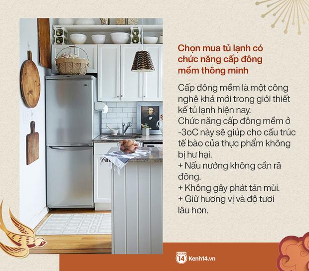 Góc chị em low-tech sắm Tết: Kinh nghiệm update tủ lạnh mới cho gia đình - Ảnh 3.