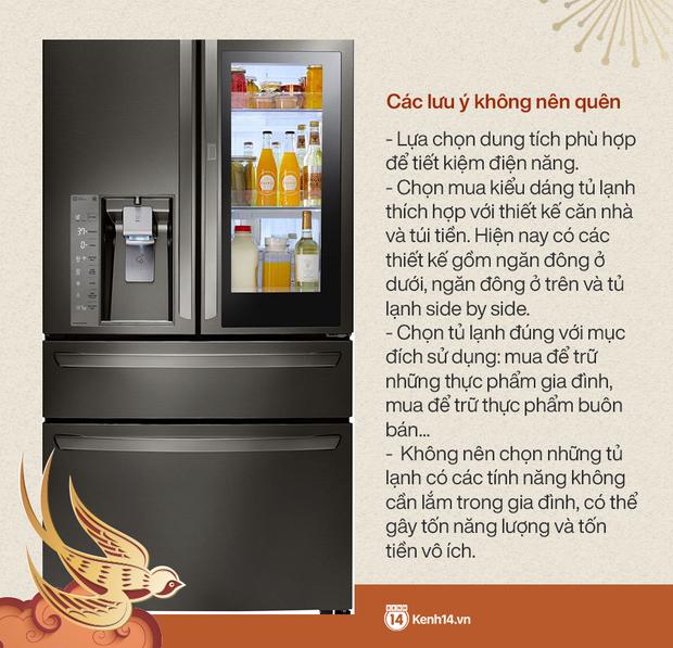 Góc chị em low-tech sắm Tết: Kinh nghiệm update tủ lạnh mới cho gia đình - Ảnh 8.