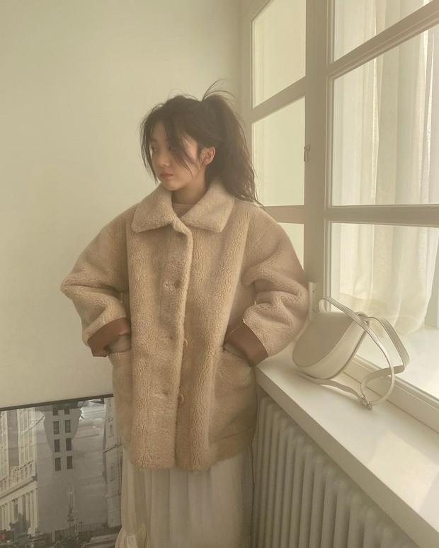Muốn hoàn chỉnh diện mạo thanh lịch thì chớ bỏ qua kiểu tóc mái rèm cửa được quý cô Hàn ưa chuộng - Ảnh 5.