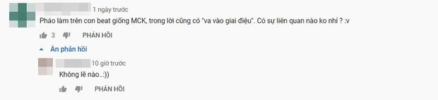 Pháo tung bản demo mới, netizen phát hiện con beat sao giống của MCK quá, còn bê nguyên câu va vào giai điệu của chính chủ? - Ảnh 4.