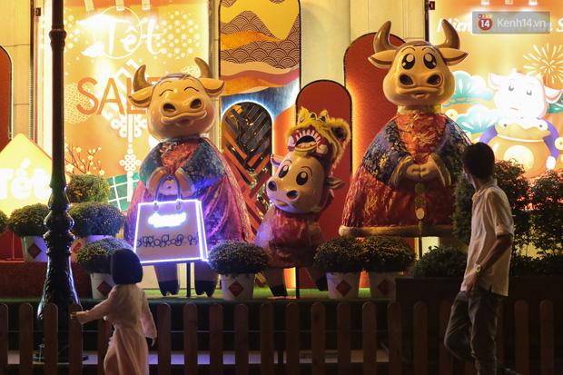 Gia đình trâu ngộ nghĩnh xuống phố Sài Gòn đón Tết Tân Sửu 2021 khiến nhiều người thích thú - Ảnh 3.