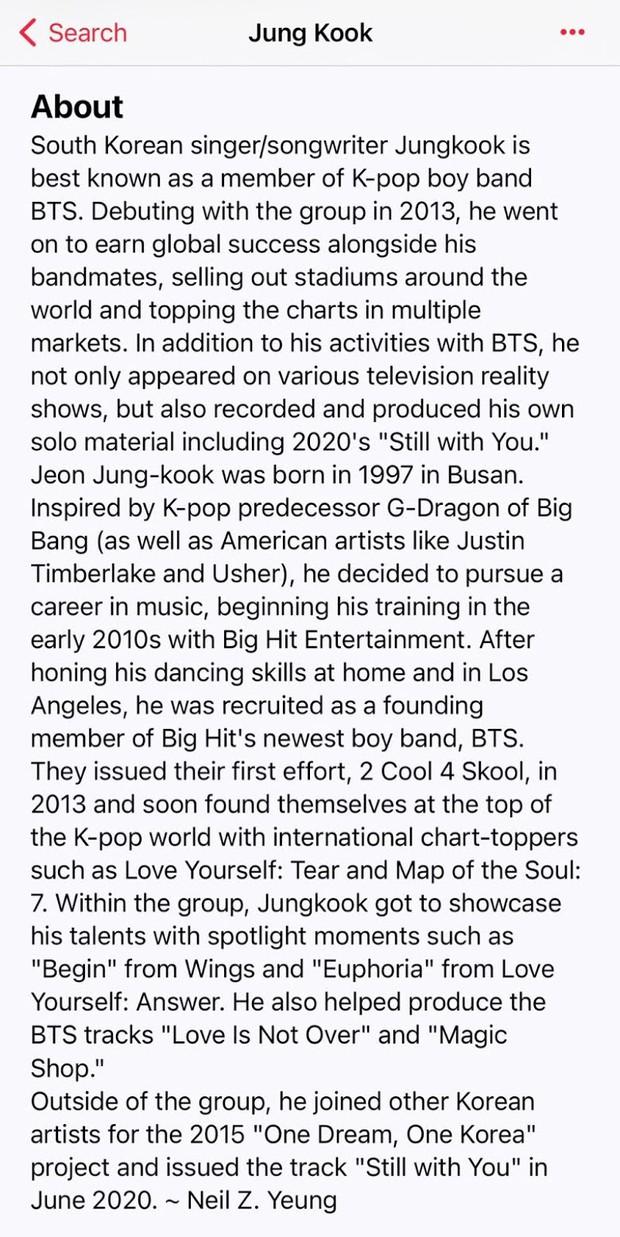 Jungkook (BTS) hết nhuộm tóc vàng hoe lại âm thầm cập nhật tài khoản Apple Music, ngày tung mixtape solo đã đến gần lắm rồi? - Ảnh 6.