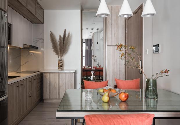 Nhà Vinhomes của trai Hà thành: Sofa màu cam thu hút mọi ánh nhìn, không gian ngập ánh sáng vừa thoáng vừa chill - Ảnh 7.