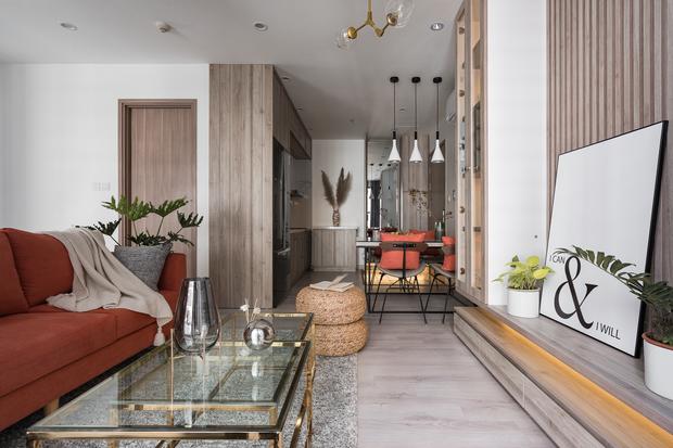 Nhà Vinhomes của trai Hà thành: Sofa màu cam thu hút mọi ánh nhìn, không gian ngập ánh sáng vừa thoáng vừa chill - Ảnh 10.