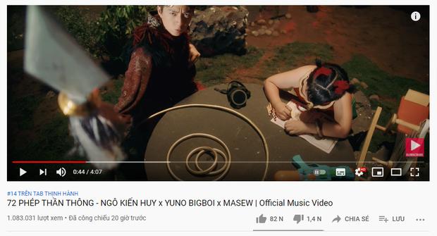 Ra mắt cùng thời điểm, MV mới của Ngô Kiến Huy và Yuno Bigboi nuốt trọn MV của K-ICM và Mâu Thuỷ trong 1 nốt nhạc! - Ảnh 1.