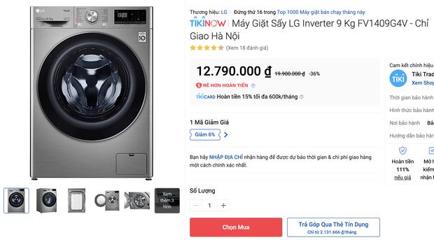 Top 8 máy giặt sale kịch sàn: Dưới 4 triệu vẫn rinh được chiếc ra gì - Ảnh 11.