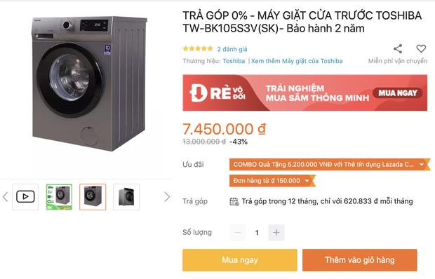 Top 8 máy giặt sale kịch sàn: Dưới 4 triệu vẫn rinh được chiếc ra gì - Ảnh 7.