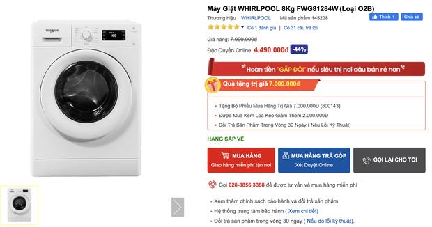 Top 8 máy giặt sale kịch sàn: Dưới 4 triệu vẫn rinh được chiếc ra gì - Ảnh 3.