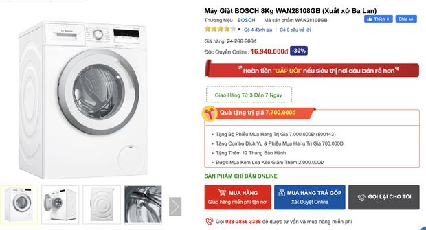 Top 8 máy giặt sale kịch sàn: Dưới 4 triệu vẫn rinh được chiếc ra gì - Ảnh 13.