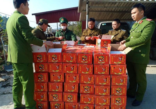 Tóm gọn 2 tấn hồng sấy dẻo từ Trung Quốc, định trà trộn lẫn lộn hàng - Ảnh 1.