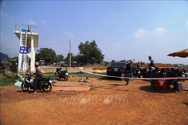 Tìm thấy thi thể cuối cùng trong vụ người phụ nữ ôm hai con nhỏ nhảy kênh tự vẫn tại Tây Ninh - Ảnh 1.