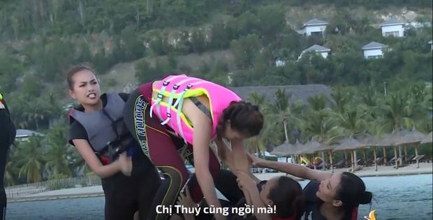 Hoa hậu Ngọc Châu nổi cơn tam bành, liên tục la hét, thậm chí còn xuất hiện cả tiếng *beep* trên truyền hình - Ảnh 5.