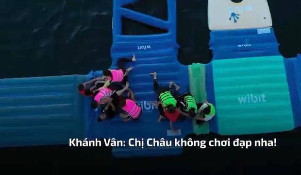 Hoa hậu Ngọc Châu nổi cơn tam bành, liên tục la hét, thậm chí còn xuất hiện cả tiếng *beep* trên truyền hình - Ảnh 2.