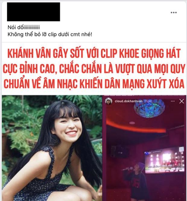 Dân mạng lan truyền clip Khánh Vân hát Nói Dối giọng cao vút, nhưng cũng xin là thảm hoạ ngang bản gốc - Ảnh 4.