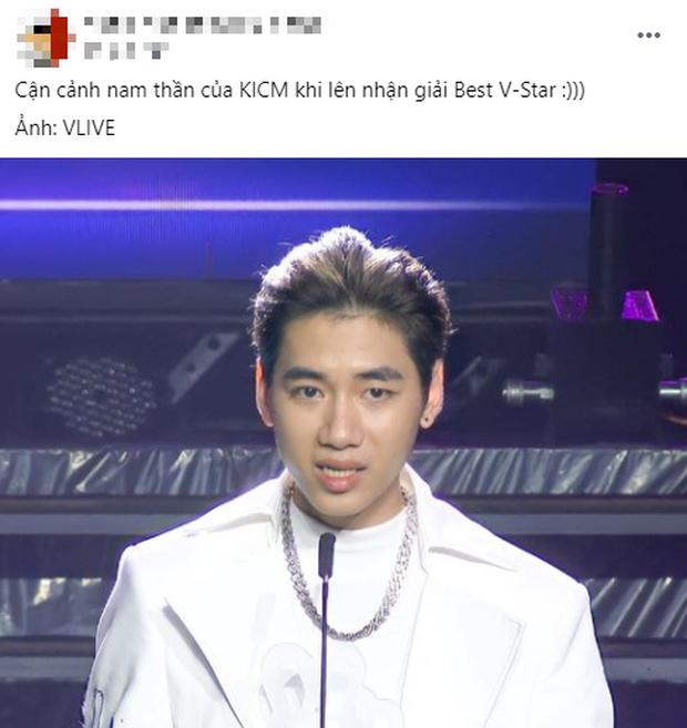 K-ICM ngập tràn trong sự mỉa mai khi thắng giải Ngôi sao Vpop xuất sắc nhất 2020: Không biết xấu hổ hay gì? - Ảnh 2.