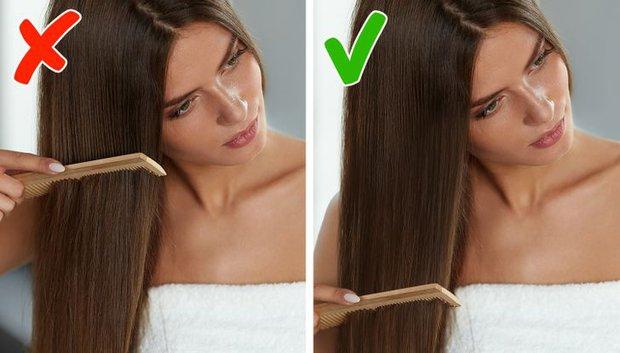 5 sai lầm khi chải tóc có thể làm hỏng mái tóc của bạn, sửa ngay nếu muốn tóc bóng mượt hơn - Ảnh 1.