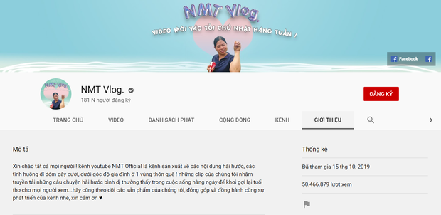 NMT Vlog - thế lực mới trong vũ trụ YouTube: Đạt gần 50 triệu lượt xem và ẵm luôn nút bạc sau 1 năm thành lập - Ảnh 2.