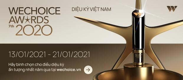 WeChoice Awards 2020 cực gay cấn: Hải Tú ăn đứt couple Tlinh - MCK, bộ ba Hậu Hoàng - Lâm Vlog - Ẩm Thực Mẹ Làm rượt đuổi sát nút - Ảnh 13.