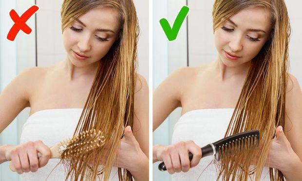 5 sai lầm khi chải tóc có thể làm hỏng mái tóc của bạn, sửa ngay nếu muốn tóc bóng mượt hơn - Ảnh 4.