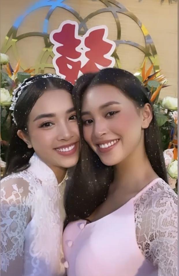 Hé lộ thiệp mời và thời gian tổ chức đám cưới ở TP.HCM của Á hậu Thúy An, Tiểu Vy là ngôi sao đầu tiên xác nhận đến dự - Ảnh 3.