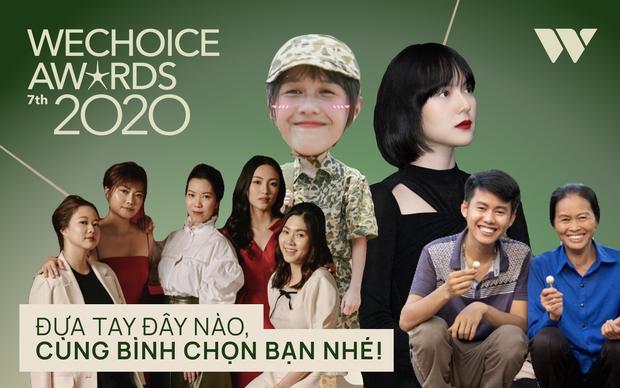 WeChoice Awards 2020 cực gay cấn: Hải Tú ăn đứt couple Tlinh - MCK, bộ ba Hậu Hoàng - Lâm Vlog - Ẩm Thực Mẹ Làm rượt đuổi sát nút - Ảnh 1.