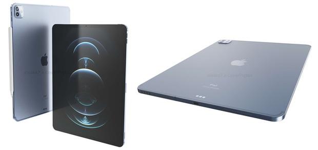 Đây là iPad Pro 2021: Thiết kế cũ, viền mỏng hơn, màn hình mini-LED, hỗ trợ 5G, ra mắt vào tháng 10 - Ảnh 2.