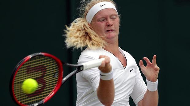 Tay vợt nữ dị nhân ở Australian Open 2021, chỉ có 8 ngón tay và 7 ngón chân - Ảnh 2.
