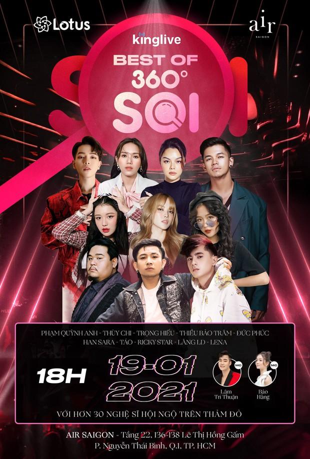 Jun Phạm, Đức Phúc, Ricky Star,... cùng dàn sao Vpop đình đám xác nhận đổ bộ đêm Gala Best Of 360 Độ Soi, bạn đã sẵn sàng? - Ảnh 1.
