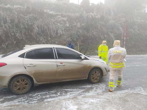 Dự báo băng tuyết xuất hiện nhiều nơi, Cục CSGT ra khuyến cáo khẩn - Ảnh 2.