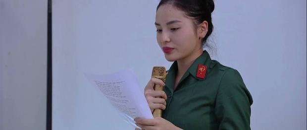 Tự nhận tông điếc nhưng Diệu Nhi vẫn muốn giành giải nhất khi thi hát trong quân đội - Ảnh 2.