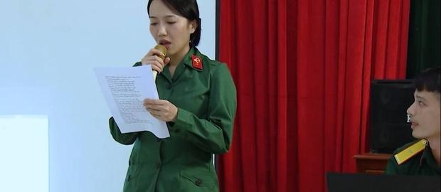 Tự nhận tông điếc nhưng Diệu Nhi vẫn muốn giành giải nhất khi thi hát trong quân đội - Ảnh 4.
