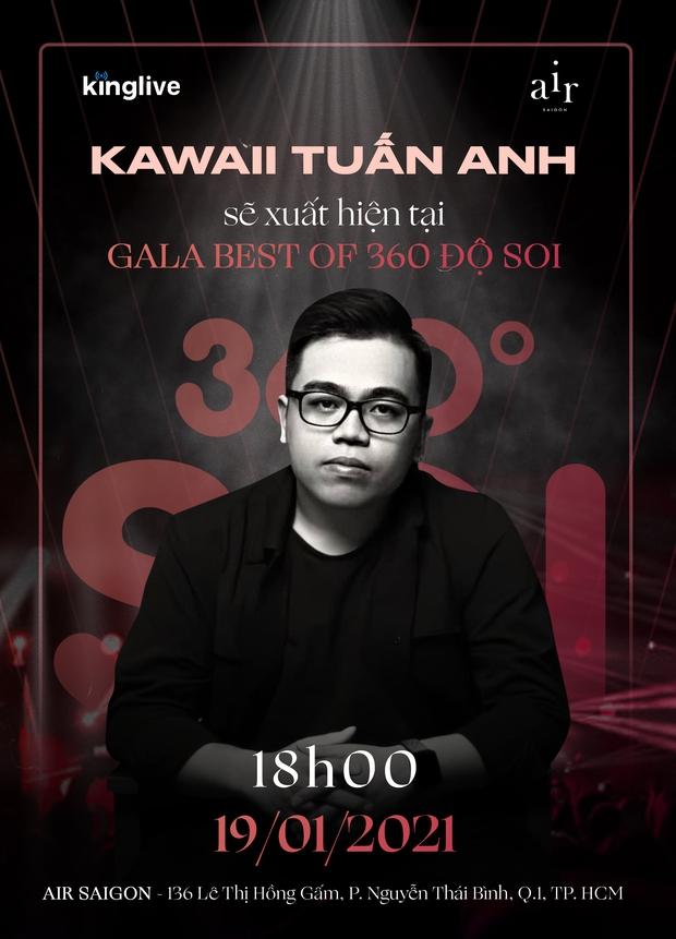 Jun Phạm, Đức Phúc, Ricky Star,... cùng dàn sao Vpop đình đám xác nhận đổ bộ đêm Gala Best Of 360 Độ Soi, bạn đã sẵn sàng? - Ảnh 3.