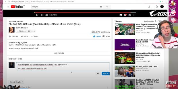 """Netizen """"đào"""" clip ViruSs reaction MV debut của Chi Pu: Chê Trang Pháp viết lời dở nhưng thái độ nhận xét khác hẳn Phí Phương Anh? - Ảnh 5."""