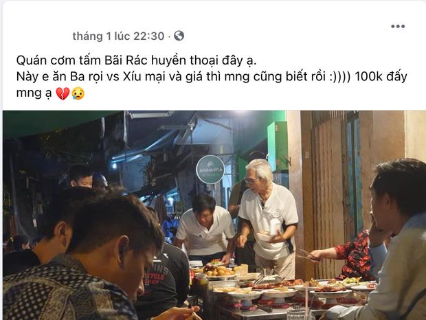Cơm Tấm Bãi Rác bất ngờ bị nhiều netizen tố bán đĩa sườn + xíu mại tính 100k là quá đắt, thực hư câu chuyện là gì? - Ảnh 1.