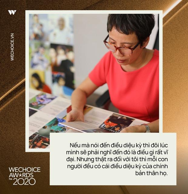 Nhà báo Trần Mai Anh: 20 đề cử WeChoice Awards năm nay đã tạo nên một bức tranh xã hội không bị thiên vị bởi điều gì - Ảnh 6.