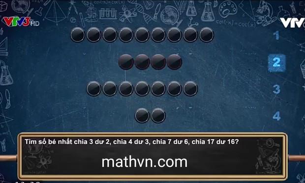 Câu hỏi Olympia siêu dễ: Tích của 100 số nguyên tố chia cho 21 dư bao nhiêu? - Ảnh 2.