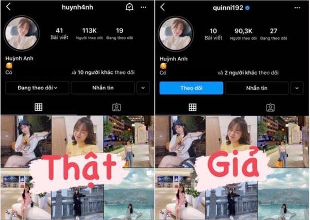 Bồ cũ Quang Hải bị lập Instagram pha-ke, bất ngờ hơn là danh tính chủ cũ của nick giả có tick xanh - Ảnh 1.
