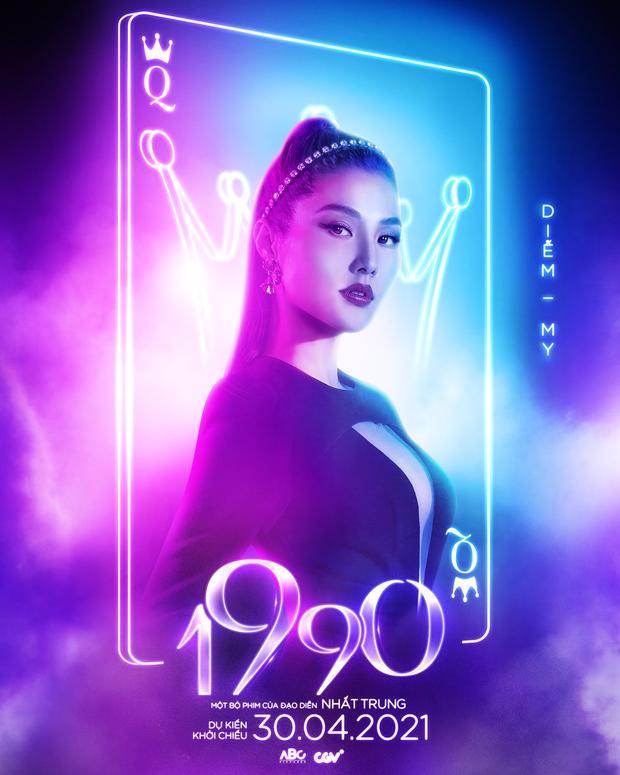 1990 tung poster Lan Ngọc - Nhã Phương - Diễm My 9x xinh xỉu nhưng sao giống lên bar quẩy xập xình ta! - Ảnh 3.